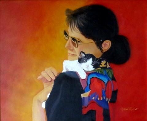 Me & Baby - Ann's portrait