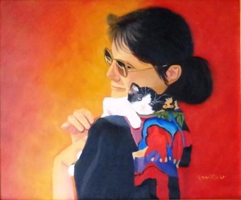 Me & Baby-Ann's portrait