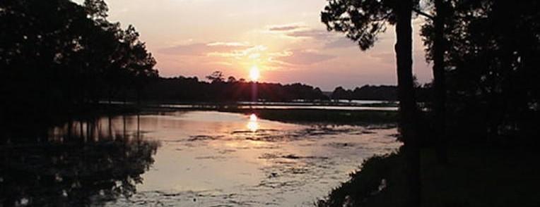 Sunset Wider View - Hilton Head Island SC